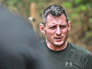 Mateusz Orczykowski head of Krav Maga training for Israeli Tactical School